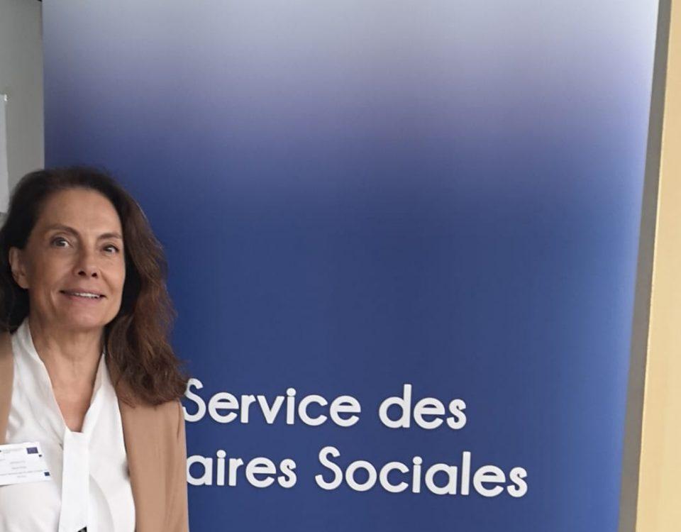 Avec Marie paule-Grossetete, vice-présidente de la CLEF