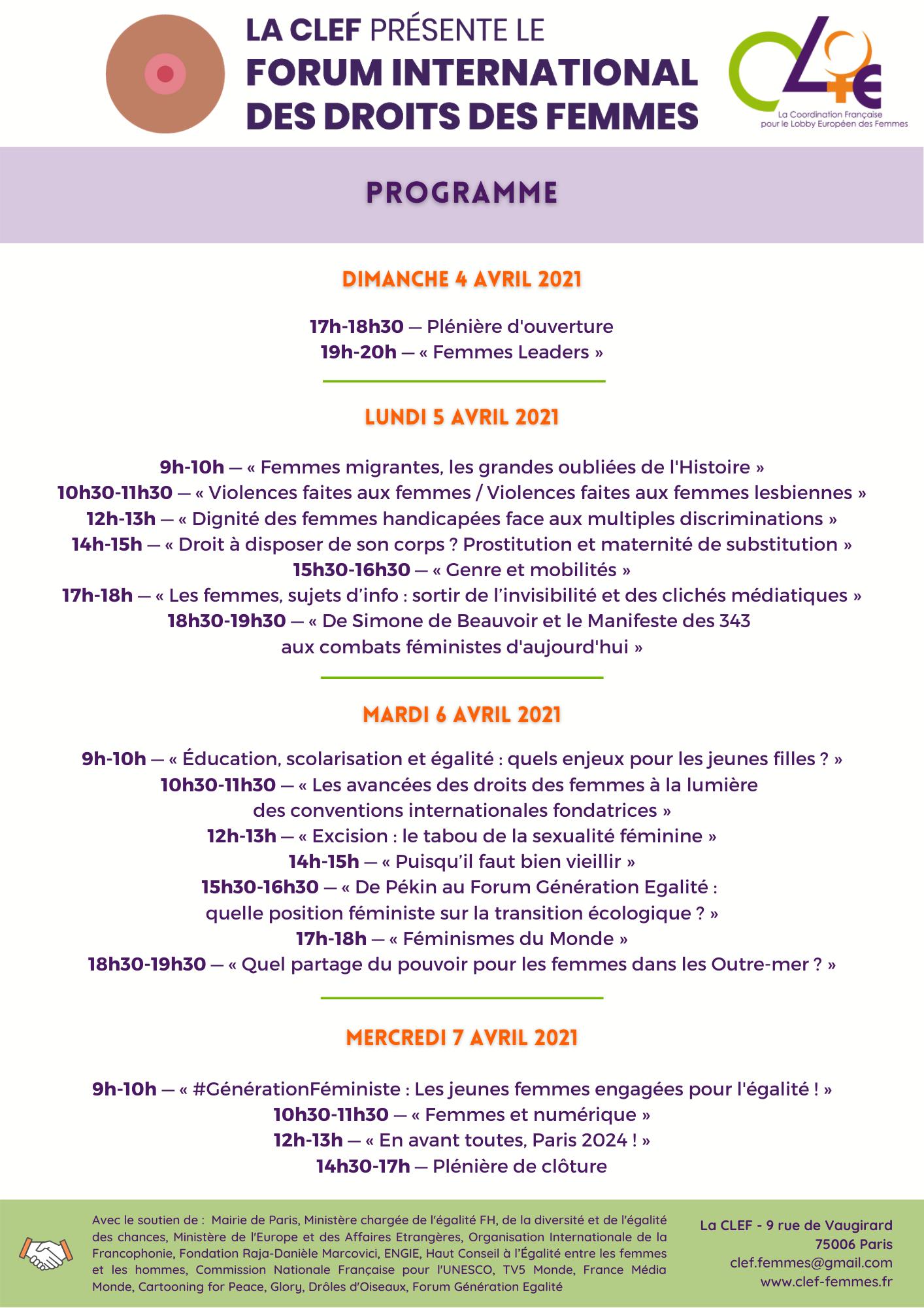 Programme FORUM-2