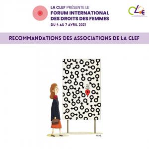 page de garde du livret de recommandations du FORUM de la CLEF